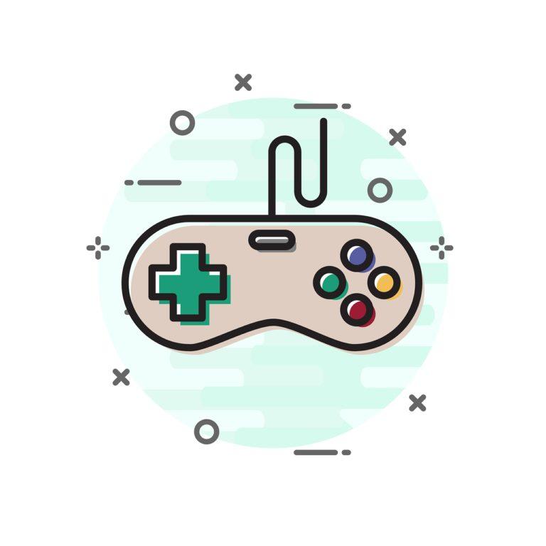 joystick, icon, game