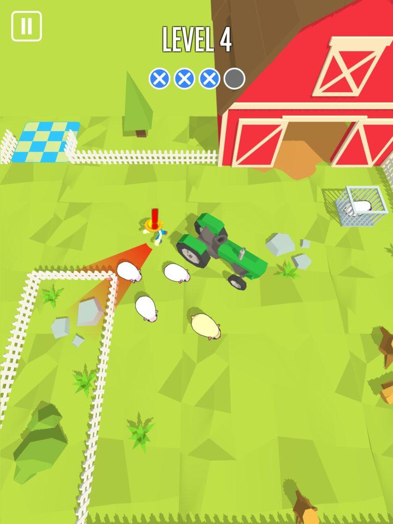 sneak escape farm rescue
